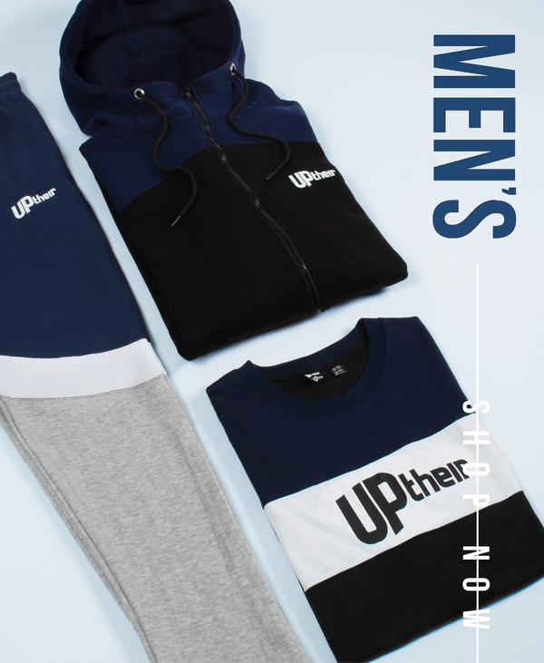 Men's uptheir clothing