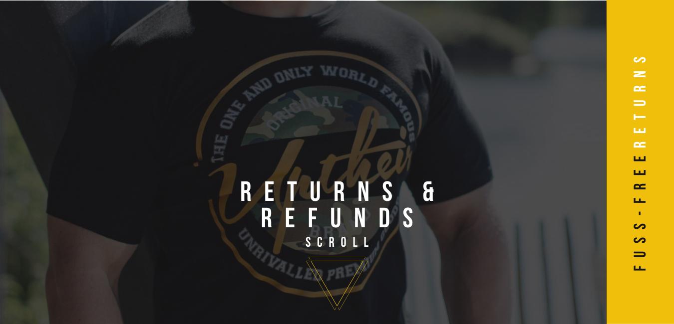 Returns & refunds at Uptheir